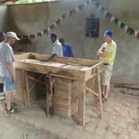 Oltář v Ngalimile
